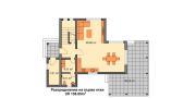 """ГОТОВ ПРОЕКТ НА КЪЩА """"ВИКТОРИЯ"""" разпределение първи етаж"""